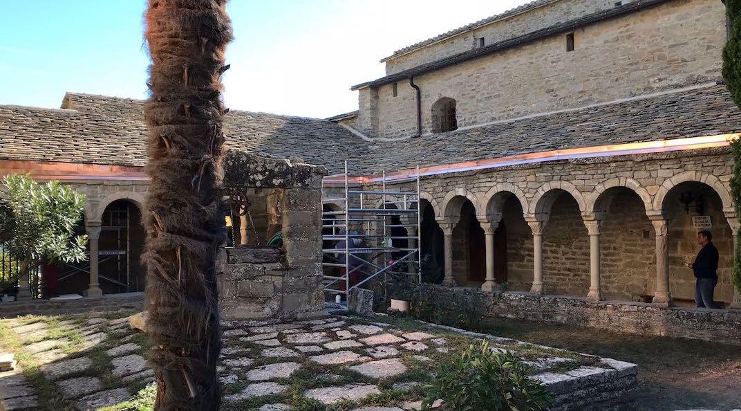 Impermeabilización cubierta en catedral