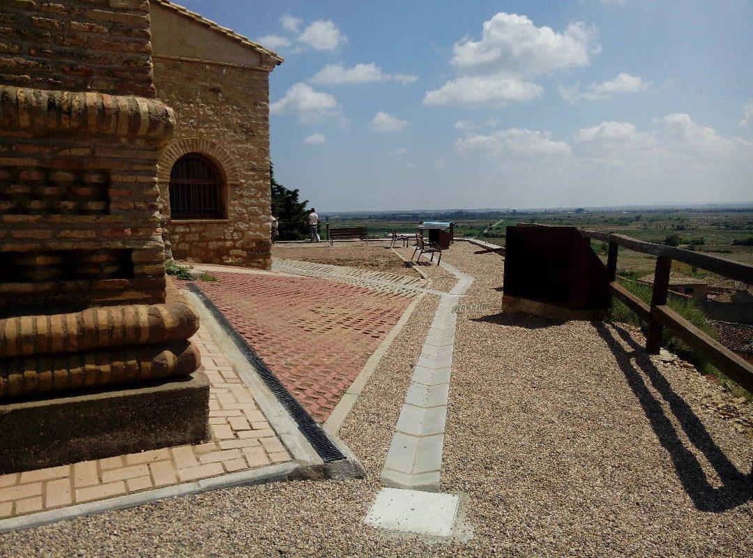 Obras entorno a la iglesia de Torralba de Aragón