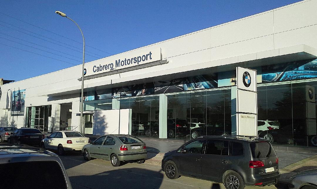 Reforma en el concesionario BMW Huesca