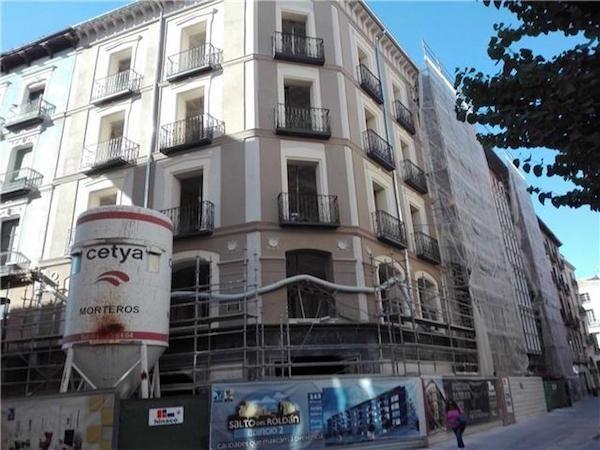 Rehabilitación fachada de edificio «Nuevas Sederías»