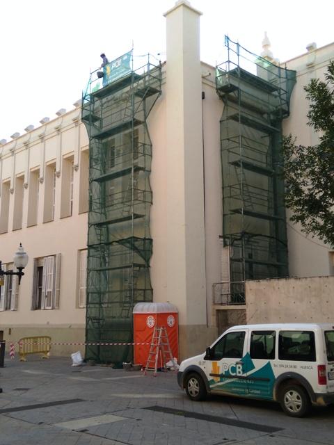 Reforma en el casino de Huesca