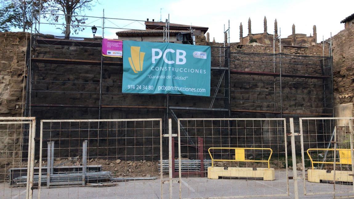 Restauración Muralla de Huesca