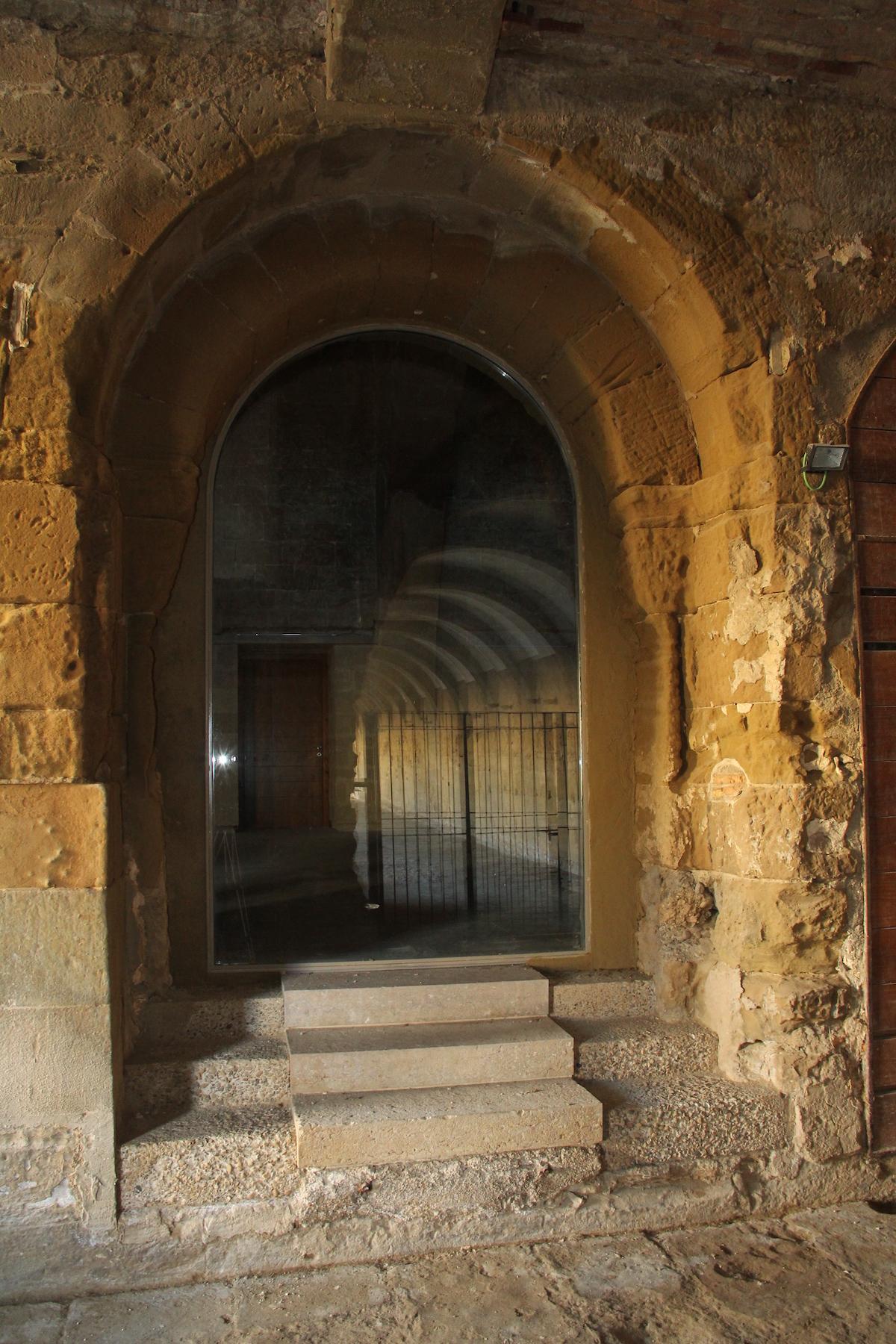 Restauración de la sala capitular en Monasterio