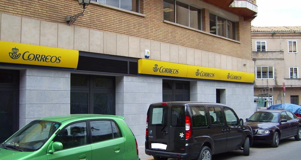 Reforma de oficina de correos en Huesca