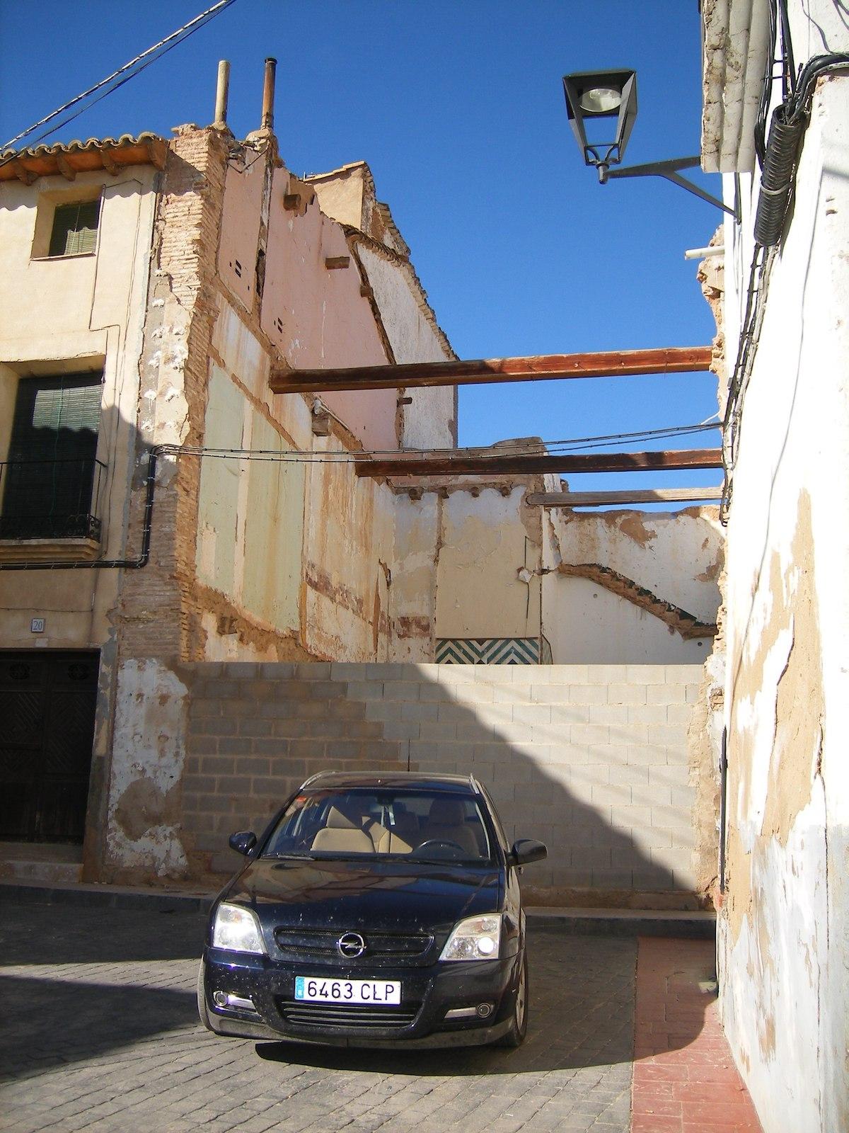 Construcción nuevo ayuntamiento en Torrellas (Zaragoza)