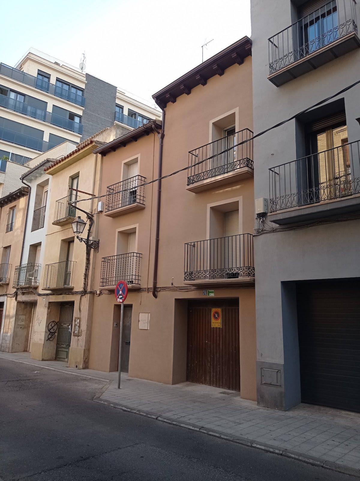 Unificación de viviendas en Huesca