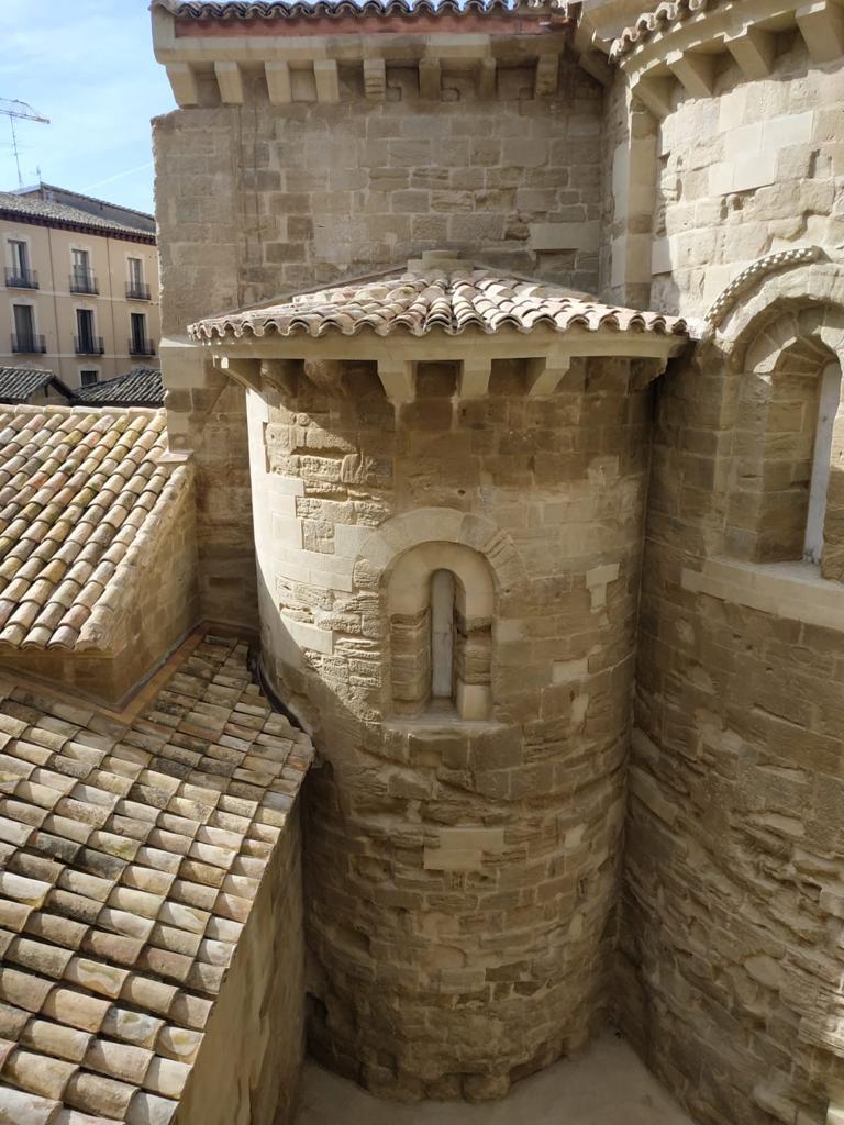 Restauración de la Iglesia San Pedro el Viejo en Huesca