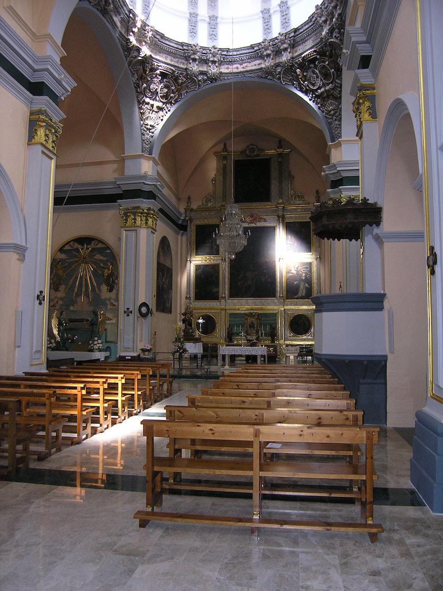 Rehabilitación de la iglesia parroquial de Bureta.